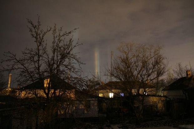 Крымчане увидели желто-голубое знамение в небе (фото)   Политека