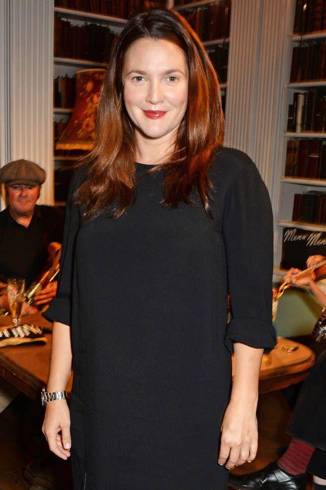 Drew Barrymore Goes Brunette For Fall