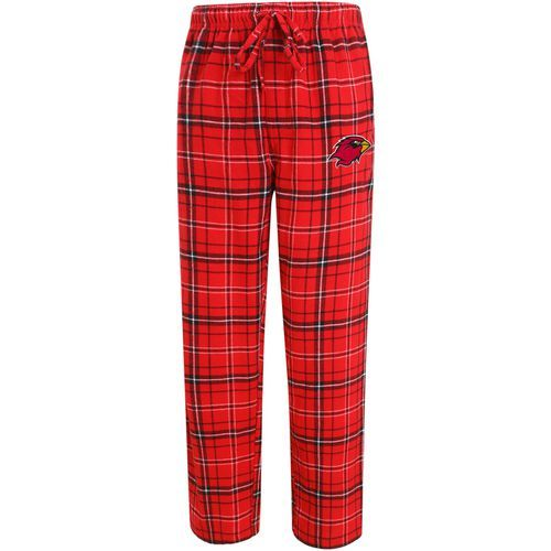 Concepts Sport Men's Lamar University Ultimate Flannel Pant (Red, Size X Large) - NCAA Licensed Product, NCAA Men's Fleece/Jackets at Academy Sports