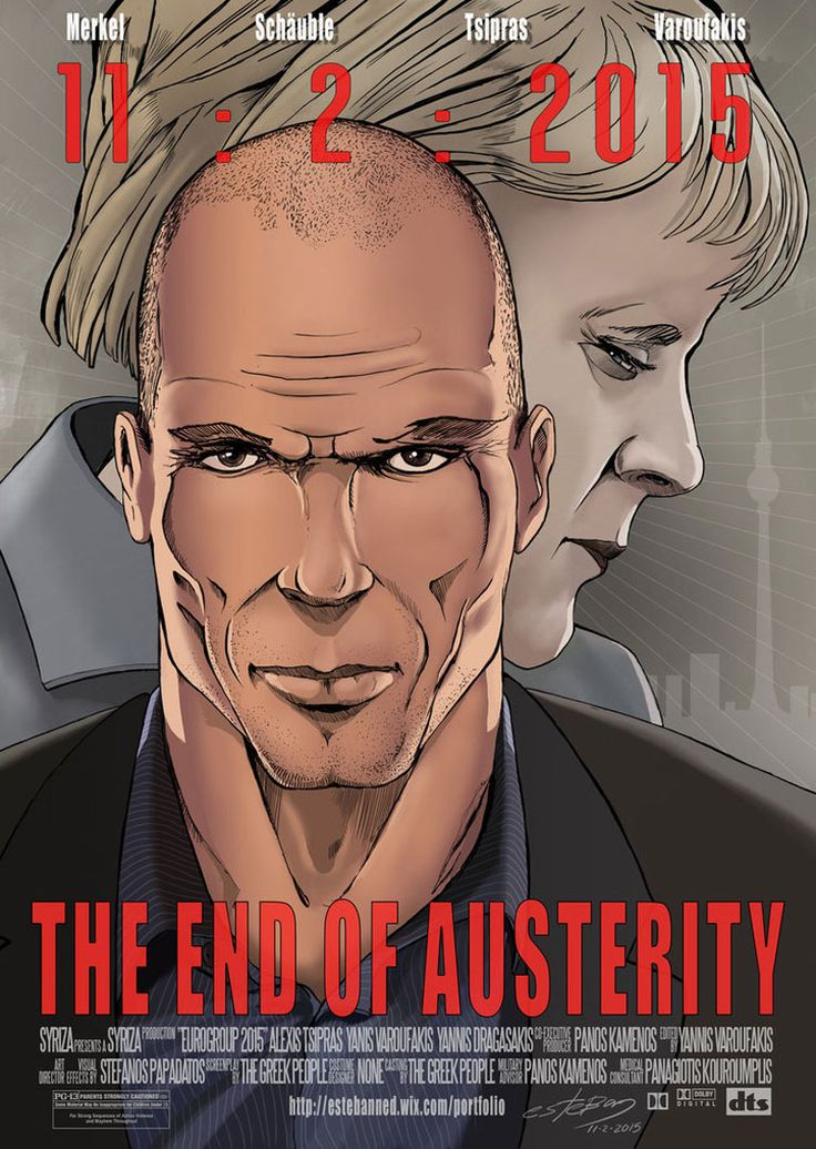 Cartoon: Varoufakis Merkel