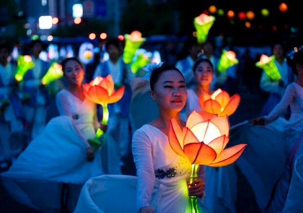 Korean Lotus Lantern Festival