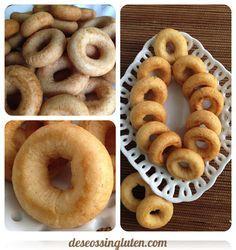 Rosquillas sin gluten