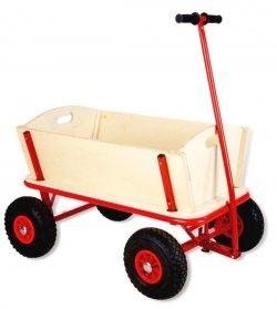 Mooie stevige bolderkar voor de kids! Pinolino - Bolderwagen Maxi