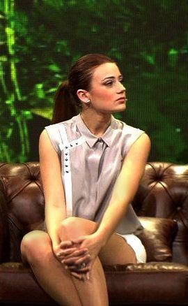 Gizem Karaca on Beyaz Show 2012