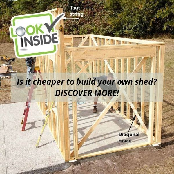 Diy Yard Shed Plans Click For Modern Lean To Gambrel Gable Salt Box And Garden Sheds That Can Be Downloaded Immediately Sheds Yard Sheds Diy Yard Shed Plans