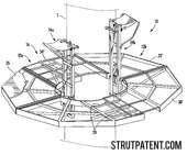 Patent: Hunting tree stand - Image: 1