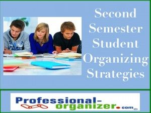 Students need a boost during second semester and these student organizing strategies make for a successful end to the school year.