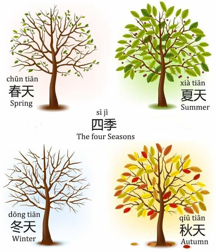 seasons in Chinese