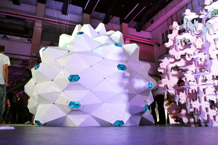 """Image 1 of 22 from gallery of Cardboard Pavilion """"Get High Without Drugs"""" Wins FAB FEST Prize. © GET HIGH WITHOUT DRUGS"""
