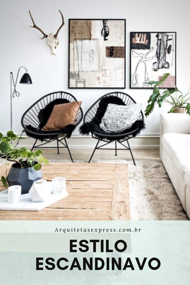 Decoração Estilo Escandinavo |Arquitetas Categorical loja digital