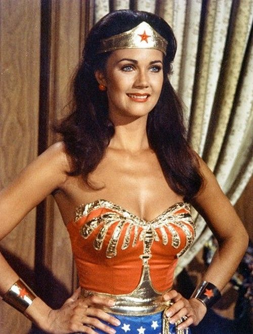 Lynda Carter as Wonder Woman -- BIG TIME CHILDHOOD CRUSH