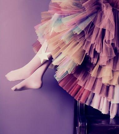 multicolor petticoat. it's BEAUUUUUTIFUL xx