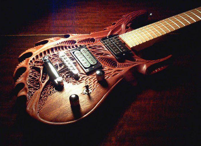 Wooden art - guitar.