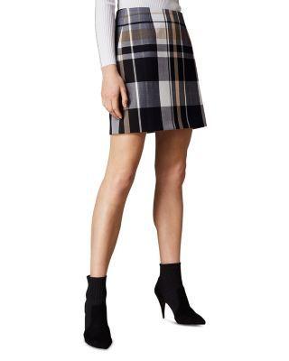 2be4352fb6e4 KAREN MILLEN Check Mini Skirt   Bloomingdale's   Spring/Summer 2019 ...