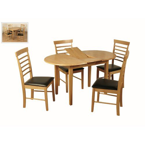 Three Posts Johannsen Extendable Dining Table Extendable Dining