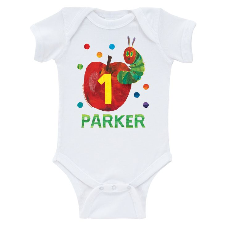 Very Hungry Caterpillar Birthday Infant Bodysuit - Birthday T-Shirts & Tutus - Party Shop | Tv's Toy Box