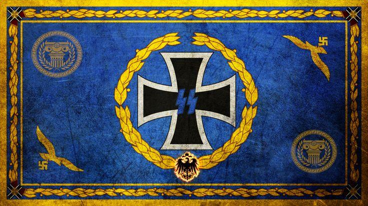 #beautiful #nazi #flag #ironcross #arianrace #germany # ...