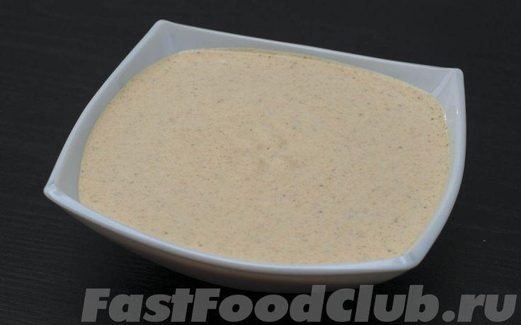 Рецепт классического соуса для шаурмы