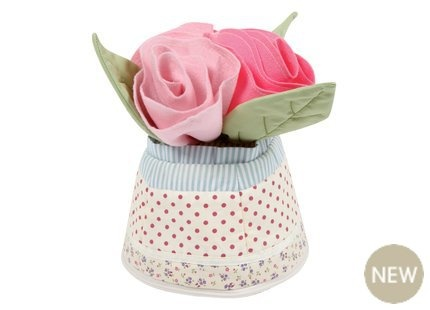 Doorstop by Laura Ashley. Would love to try making something similar in crochet...