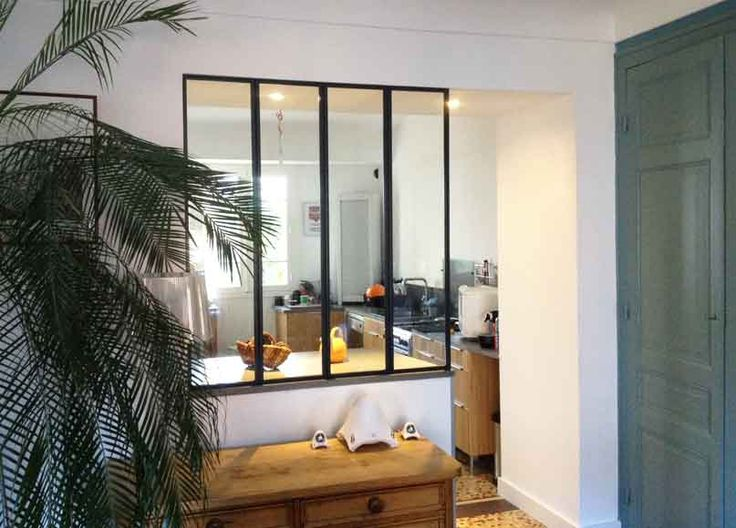 38 best verriere interieure images on pinterest room dividers home ideas and candy. Black Bedroom Furniture Sets. Home Design Ideas