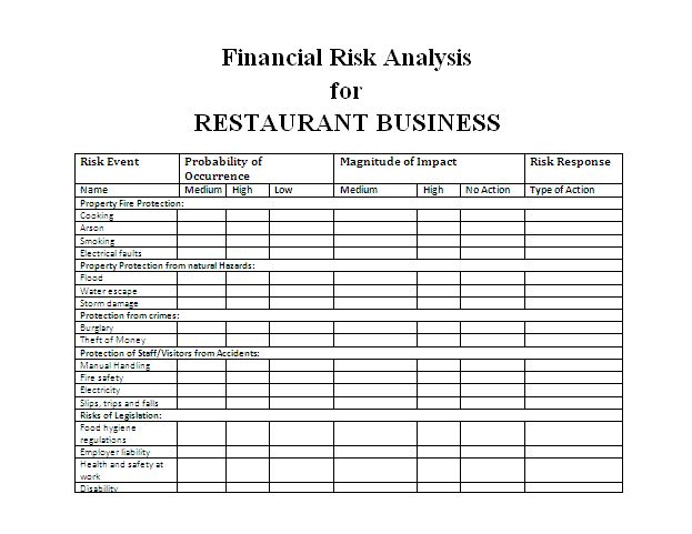 The 25+ best Risk analysis ideas on Pinterest 5 s lean, Kaizen - it risk assessment template