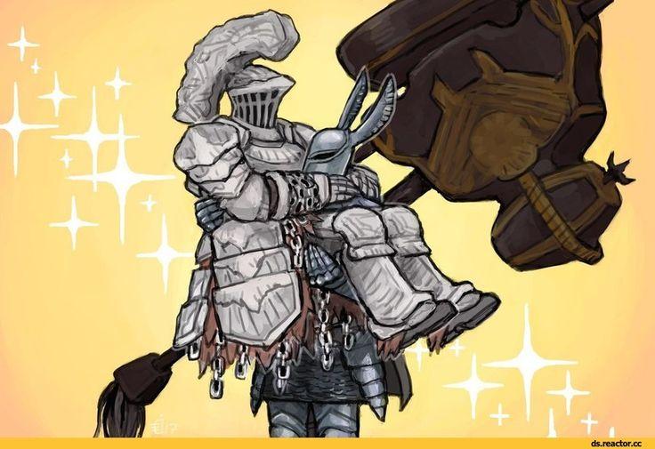 Silver Knight Ledo,Dark Souls,фэндомы,Dark Souls 3,DS персонажи,DS art,Havel the Rock