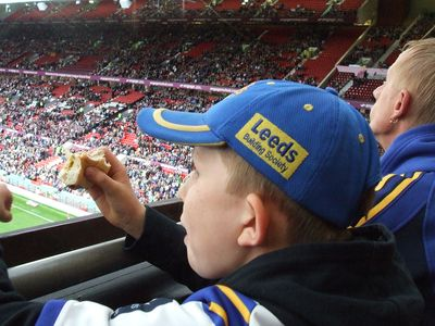 We love going to Old Trafford to win the Super League Grand Final when in Manchester! - Phill, Hull