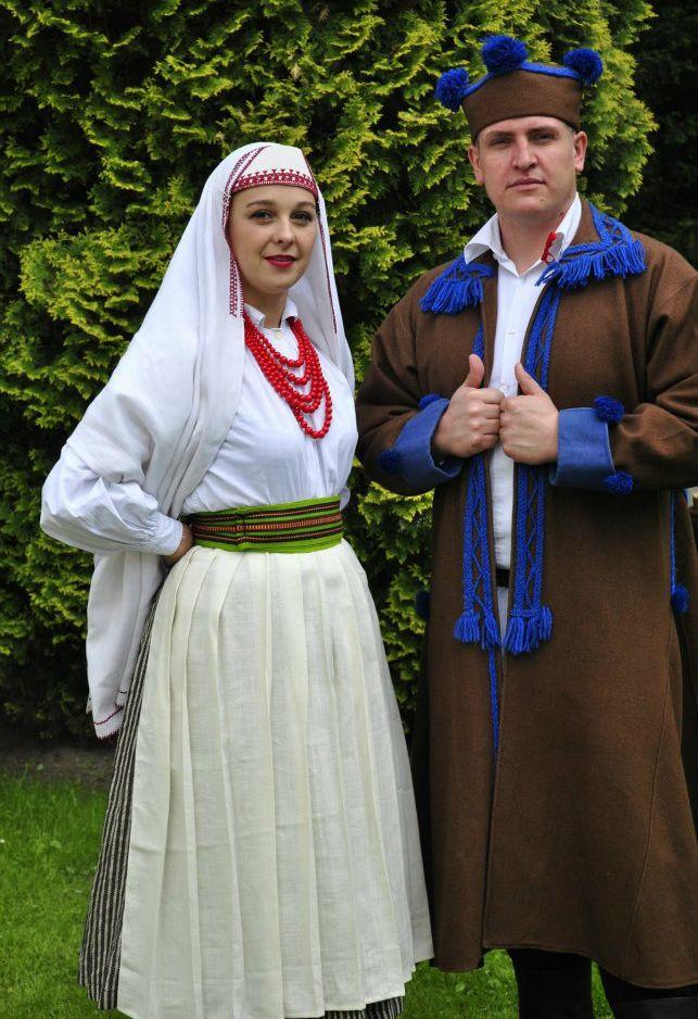 Regional clothing of Biłgoraj, Poland.