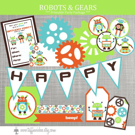 best robot baby showers ideas on   robot cake, a, Baby shower invitation