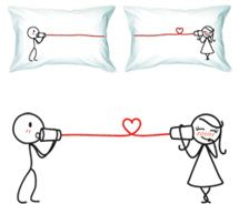CUUUTE pillowcases! Yep. I want these.....but first I need someone to give the other one tooooo! ;P hardy har.