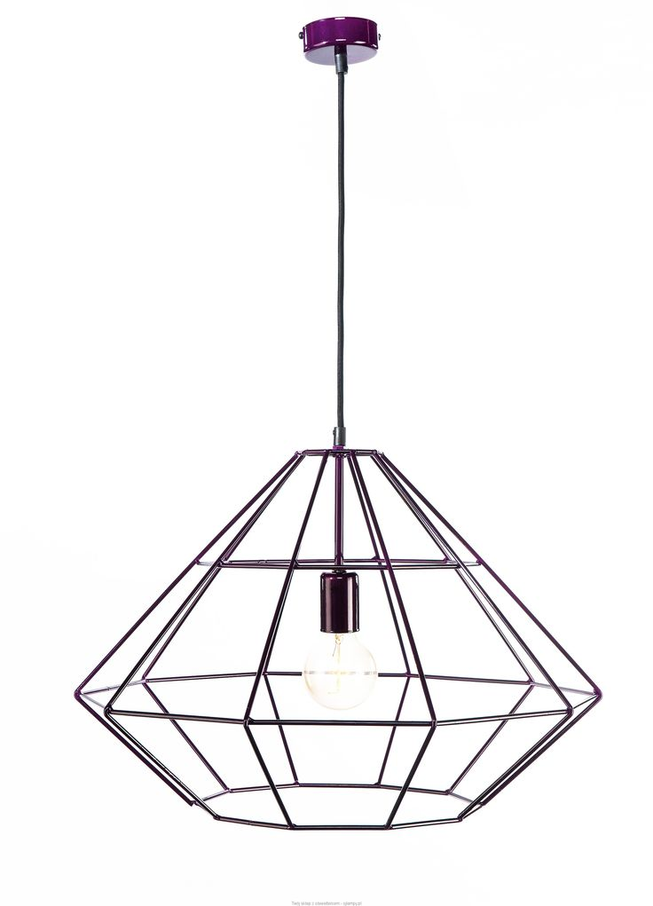 Lampa loftowa DIAMENT #loft #lampaloftowa #industrial #polskielampy