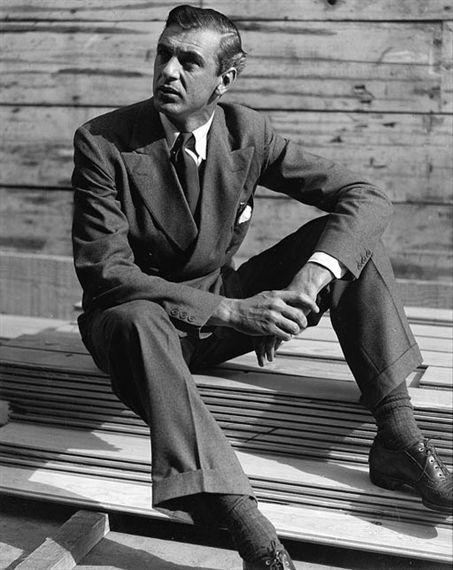 Gary Cooper By Martin Munkacsi: