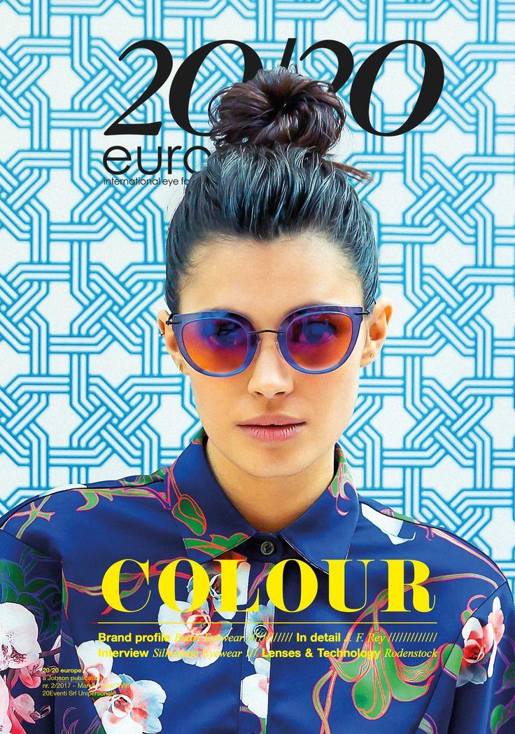 March 2017 issye Cover Eyewear // Silhouette  Shirt // Luigi Veccia Photographer // Andrea Biondi Style // Miko Burin  Hair and Make up // Alessio Giovannelli Model // Cheyenne Felix