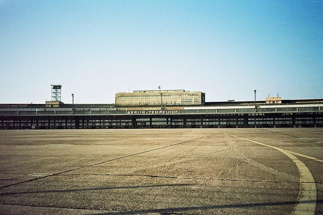 Tempelhof - BerlinBerlin April, Berlin Germany, April 2015
