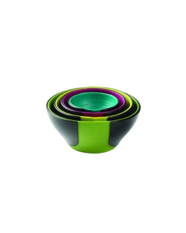 Jogo de 4 Potinhos de medidas Chef´n, flexíveis na frente, para cozinha ou servir petiscos - Pinch + Pour Prep Bowls - Preto/Colorido http://monteluce.com.br/chefn/jogo-de-4-potinhos-de-medidas-chefn-flexiveis-na-frente-para-cozinha-ou-servir-petiscos-pinch-pour-prep-bowls-preto-colorido   #decor #decorar #decoracao #casa #monteluce #decoracaodeinteriores #festa #casamento #thisisliving #casa #decor #decoração #servir #receber #lardocelar  #chefn #utensílios  http://monteluce.com.br