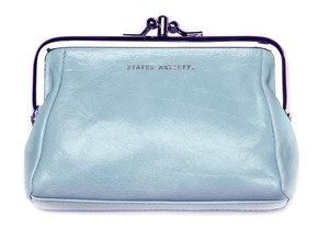 Phoebe leather purse - status anxiety purse, status anxiety phoebe ... - Green with Envy