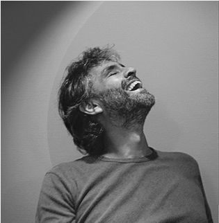 Andrea Bocelli such a wonderful happy picture of him!!