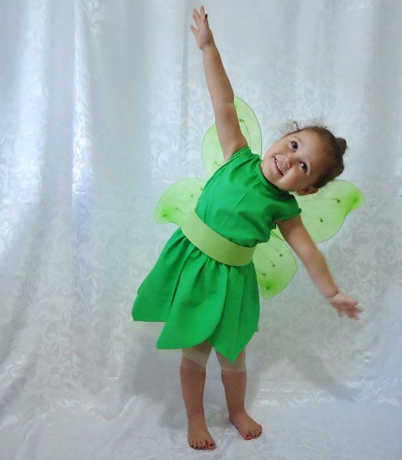 Fairy Costume Tinkerbell Rosetta Tinkerbell by LoopsyBaby, $40.00