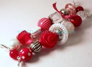 Shabby Chic Candy Cane Watch Band - Which Watch Designs