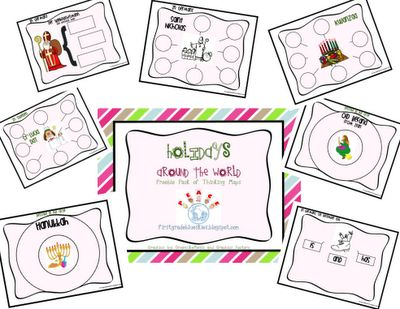 Freebielicious: Holidays Around the World Freebie Pack!