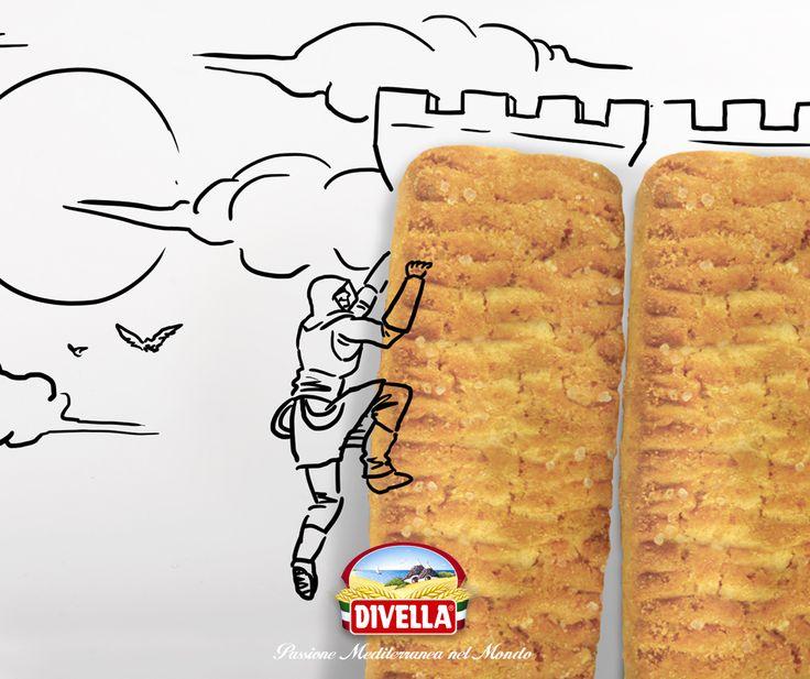 Raggiungi le vette più alte con #Divella!