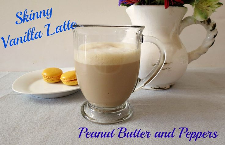 Skinny Vanilla Latte - A light, frothy, warm vanilla flavored coffee drink.