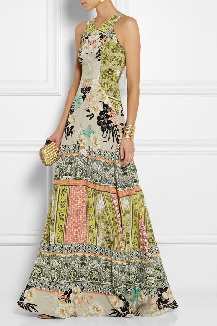 Etro | Printed silk-crepe gown $3,460