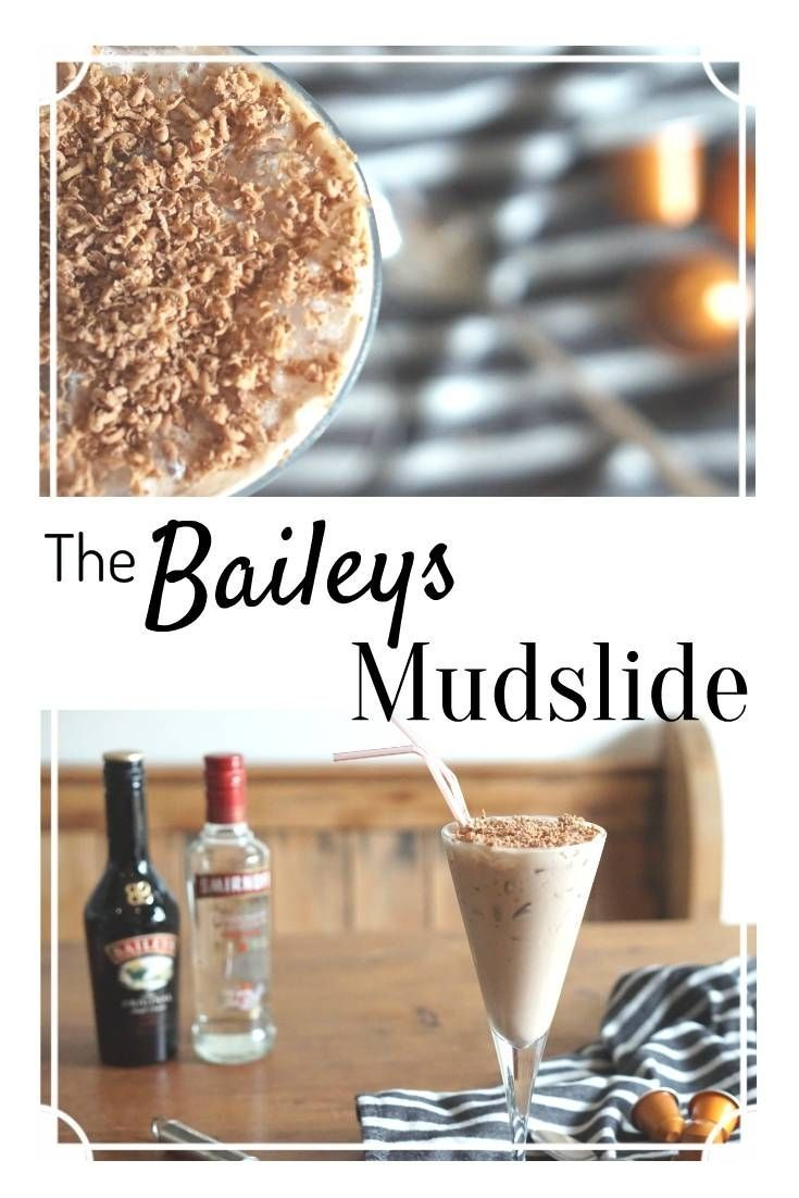 Baileys Mudslide.Chilling Out with Nespresso Coffee and Cocktails
