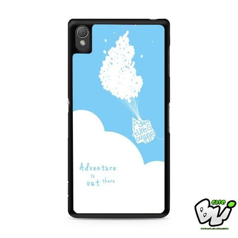 Adventure Is Out There Balloon Sony Experia Z3,Z4,Z5,C3,C4,E4,M4,T3 Case,Sony Z3,Z4,Z5 MINI Compact Case