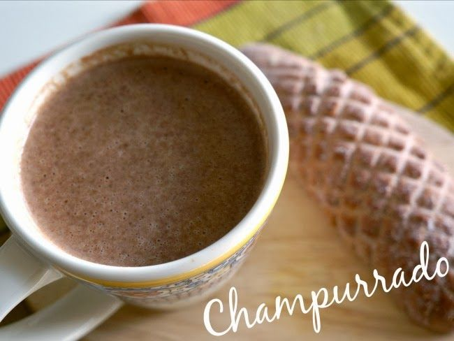 Champurrado is a traditional Mexican drink served. Like traditional Mexican hot chocolate, champurrado also uses the Mexican chocolate tablets.