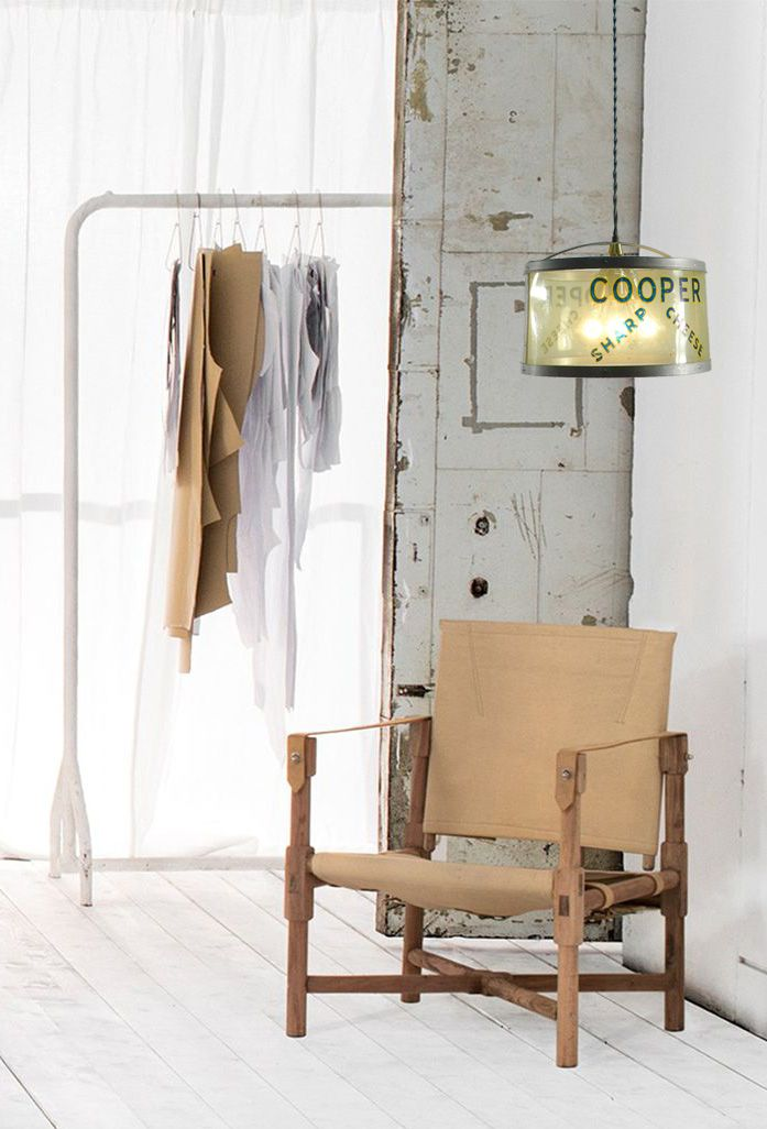 The Cooper Cheese Ceiling Fixture goes well with this wood and leather chair. #Design #ContemporaryDesign #InteriorDesign #IndustrialDesign #HomeDecor #Home #HomeDecoratingIdeas #Decorating #InteriorDecorating #Interiors #House #Upcycle #UpcycleTHIS #Repurpose #Recycle #Environment #Sustainable #SustainableLiving #Earth #EarthDay #Green #Industrial #Contemporary #RefitOrDie #Furnishings #Decor #DIY #DoItYourself #Craftsman #Artist #MixedmediaArtist #MixedMedia #Room #RoomDecor…