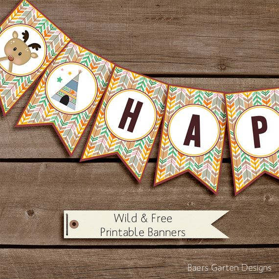Best 25 welcome banner printable ideas on pinterest welcome wild and free happy birthday its a boy and welcome banners printable birthday party decorations pronofoot35fo Image collections
