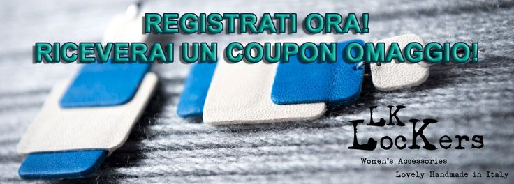 LK-Lockers - Accessori in Pelle - LK-Lockers – Accessori in pelle: un coupon omaggio a tutti i nuovi registrati