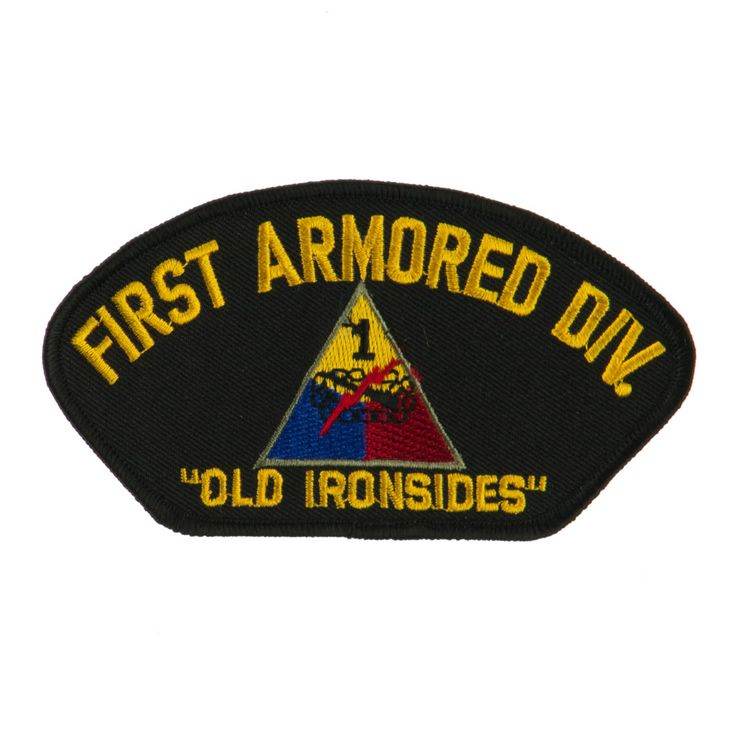 US Army Division Military Large Patch - First Armored